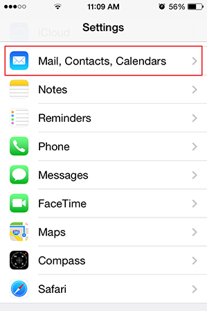 Step 2/11. How do I set up my email account using IMAP for Apple iPhone for Google mail?