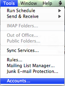 Step 2/6. How do I set up my email in Microsoft Outlook for Mac 2011?