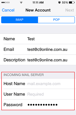 Step 7/10. How do I set up my email on my iPhone or iPad?