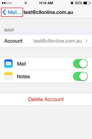 Step 9/10. How do I set up my email on my iPhone or iPad?