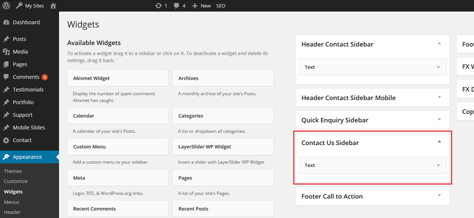 Step 3/5. How do I update my contact details on my website?