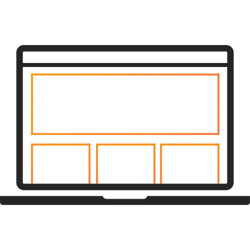 Give your website a makeover with a new theme.
