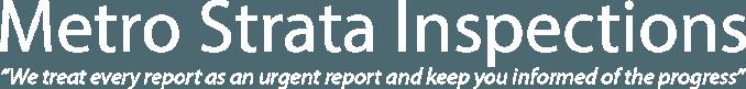 Metro Strata Inspections